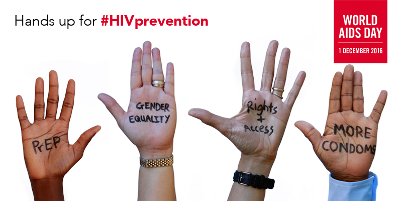 Hands Up for #HIVprevention Campaign - Nine Circles ...