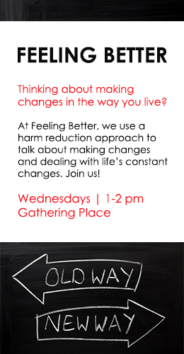 Join us Wednesdays for Feeling Better!